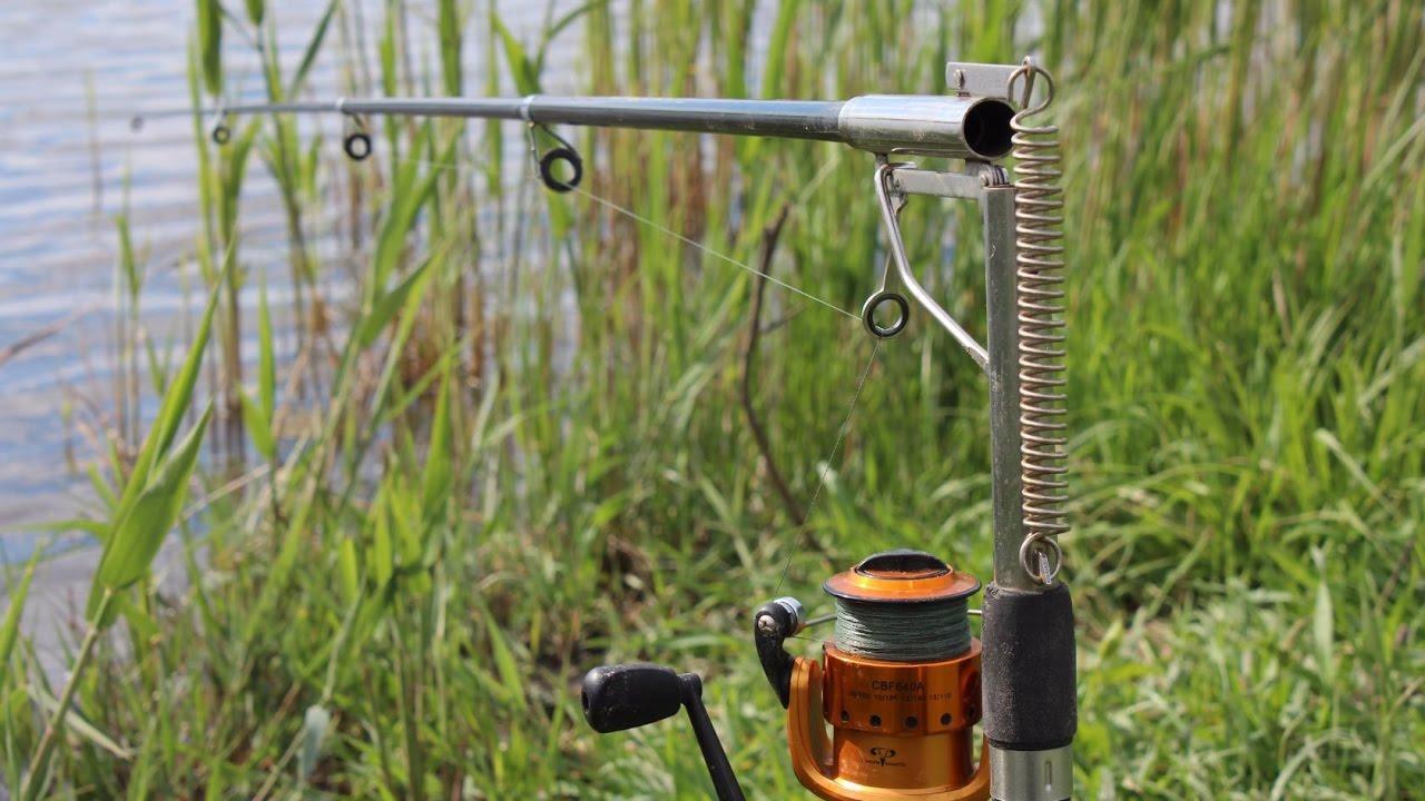 Хитрая китайская удочка ловит рыбу сама