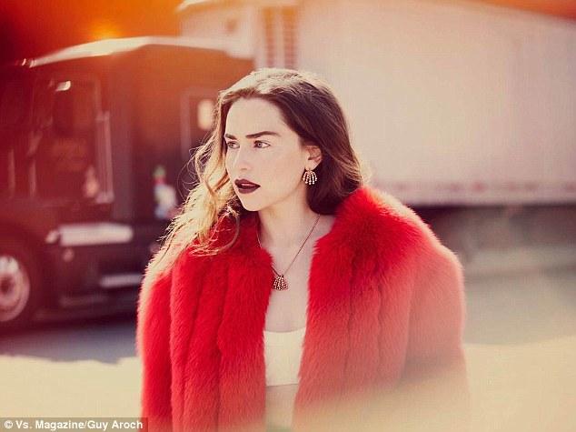 Эмилия Кларк фотосессия для журнала VS