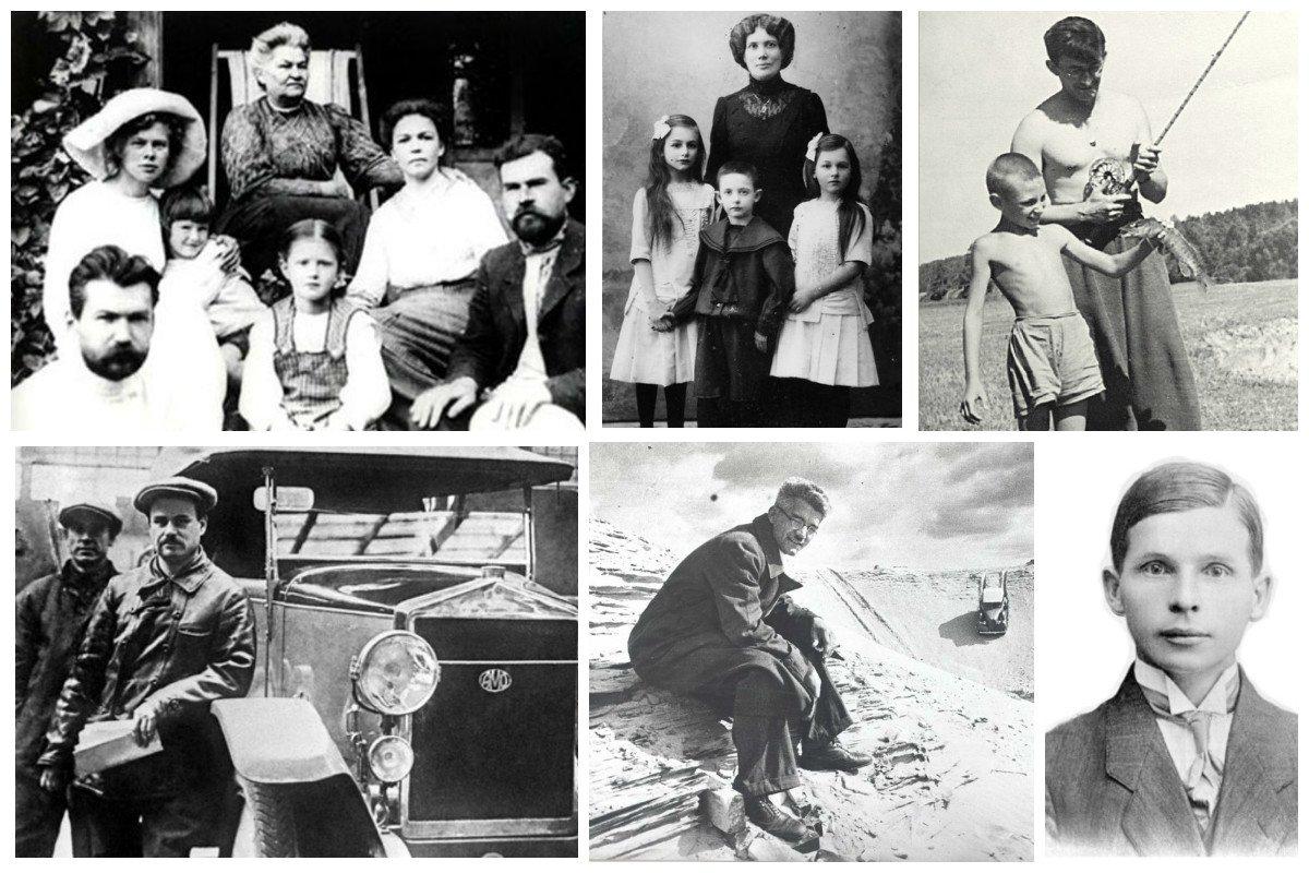 Редкие фото русских и советских ученых и конструкторов