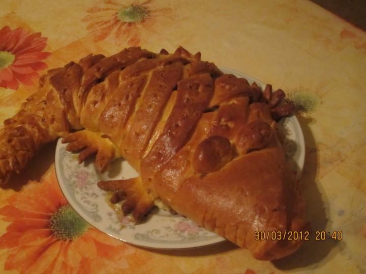 Пирог Крокодил.