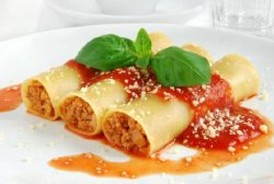 Каннеллони с фаршем - вкусно по-итальянски!
