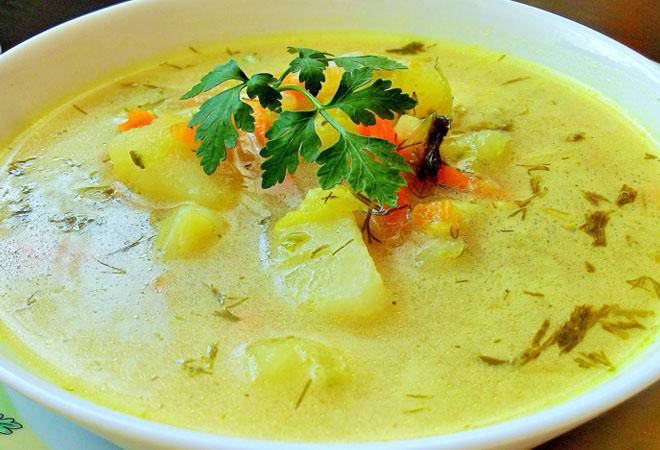 Рассольник по-польски: суп, …