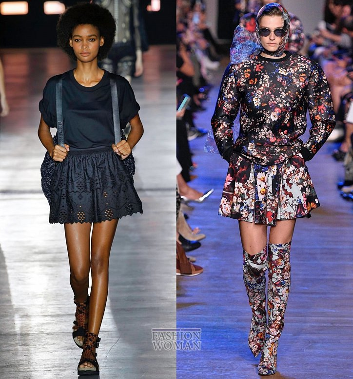 Модные юбки весна-лето 2019 фото №24