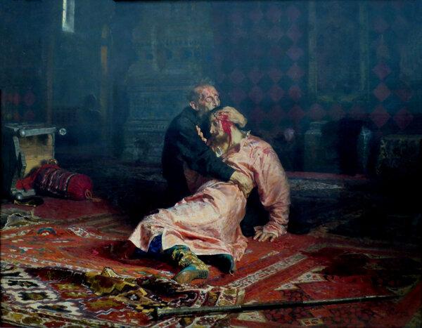 И на старуху бывает проруха - как Илья Репин Ивана Грозного с ошибками изобразил