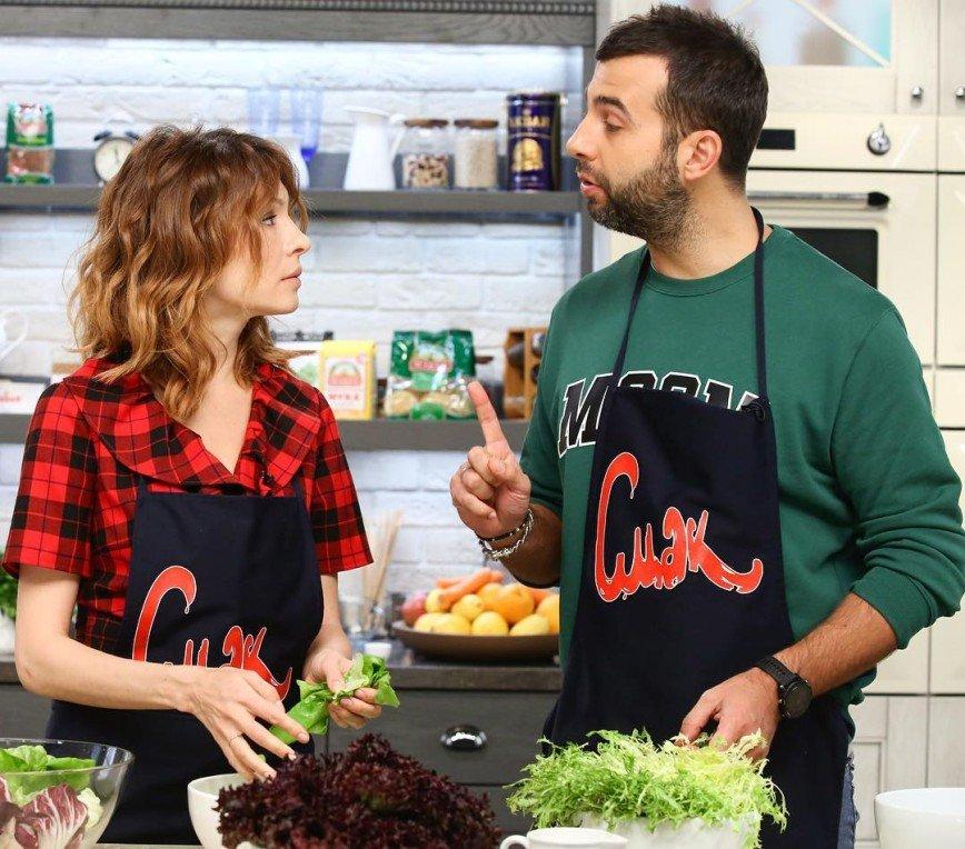 Как вы такое едите?: блюдо Елены Подкаминской не произвело впечатления