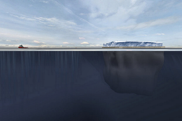 Уже через 1-2 года айсберги могут перевозить ради пресной воды