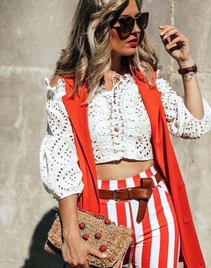 Лето 2018 в разгаре — 10 свежих образов из модных блогов