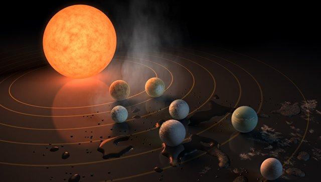 """Астрономы нашли воду и воздух на ближайших """"кузинах"""" Земли"""