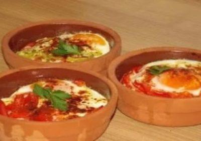 Самый красивый и вкусный завтрак сирене в гювече по-турецки