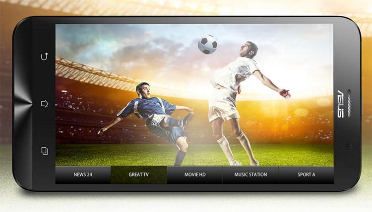 ASUS Zenfone Go TV: смартфон с цифровым ТВ-тюнером