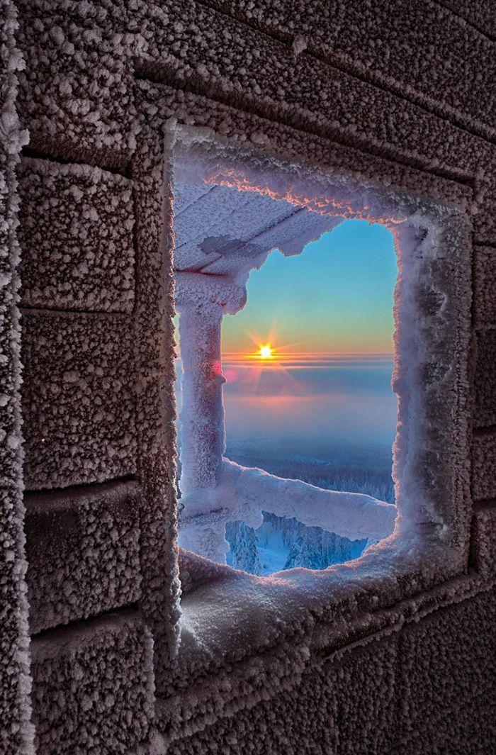 Лапландская зима