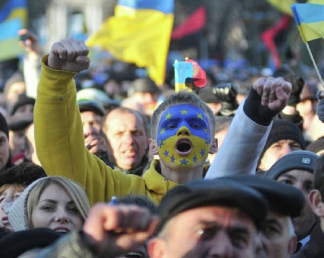 Украинцы перекрыли дорогу в Киев