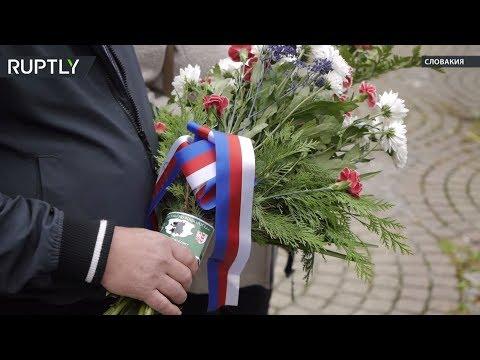 В Европе прошли акции против сноса памятников советскому солдату