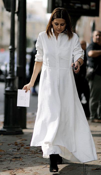модное платье рубашка счем носить фото