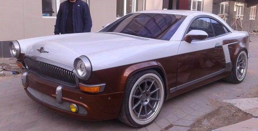 500-сильная Волга ГАЗ-21, созданная на базе купе Mercedes-Benz CL 55 AMG