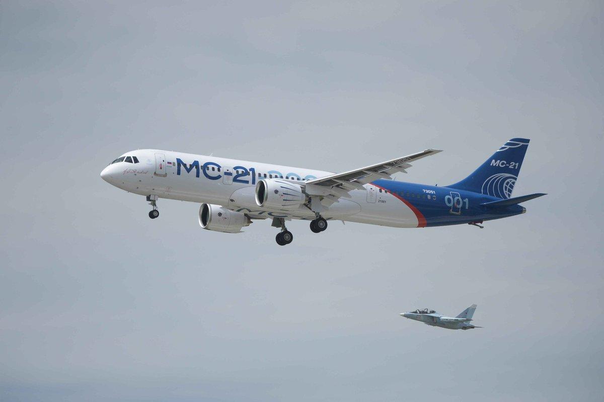 Победа: Новейший российский лайнер МС-21совершил успешный пробный полет (ФОТО, ВИДЕО)