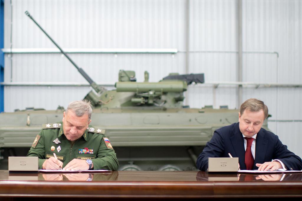 """Контракт на модернизацию более 540 БМП-2 и БМД-2 с оснащением боевым отделением """"Бережок"""""""