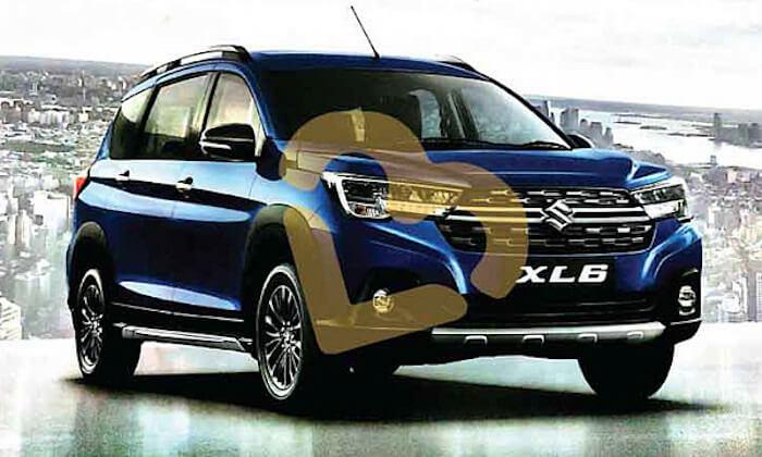 Новый кросс-вэн Suzuki XL6 показали на официальных фото