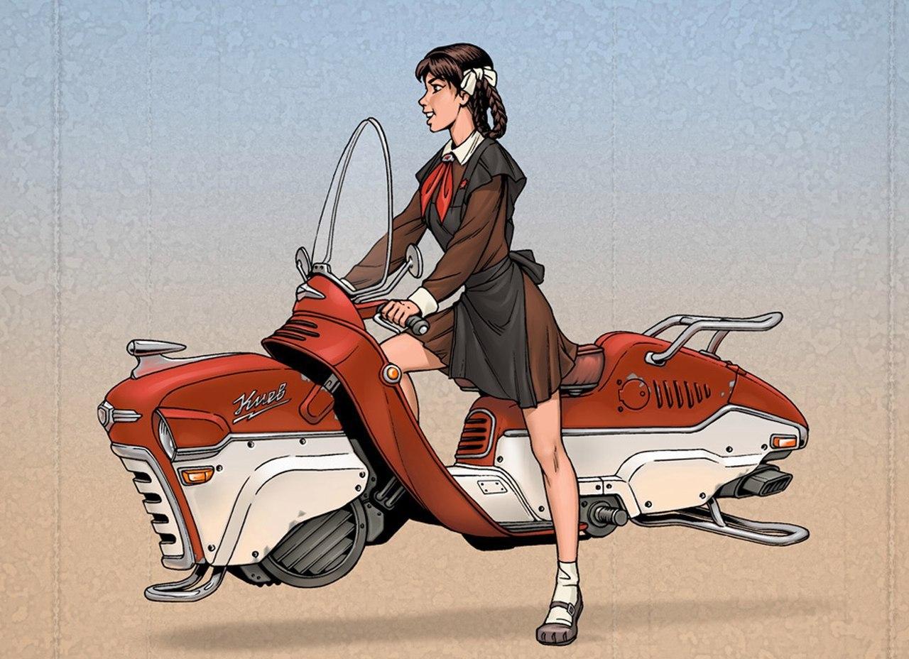Советский дизельпанк: рисунки талантливого комикс-художника Алексея Липатова