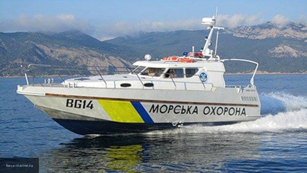 Появилось видео перехвата российскими пограничниками украинского катера в Азовском море
