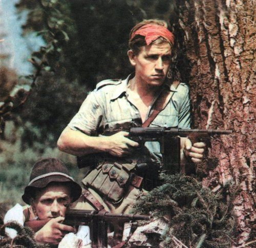 Советские гарибальдийцы
