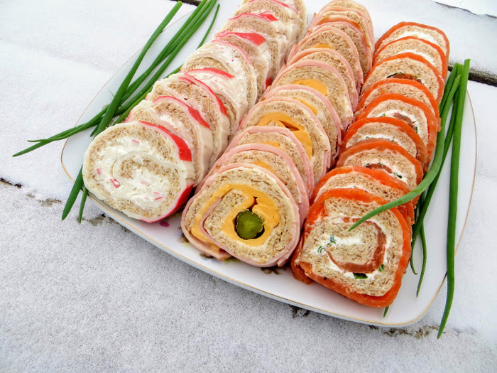 3 праздничных рулета! Праздничный стол, Новогодний рецепт, Рулеты, Закуска, Другая кухня, Видео рецепт, Длиннопост, Рецепт, Вкусно, Видео