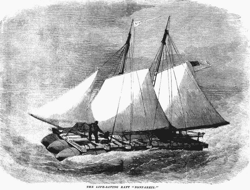 «Нонпарель» - предшественник всех современных средств спасения на море