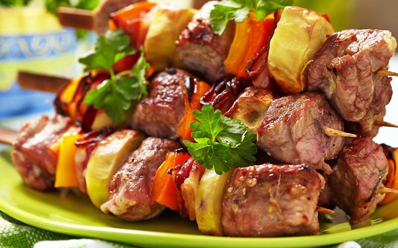 как замариновать мясо на шашлык