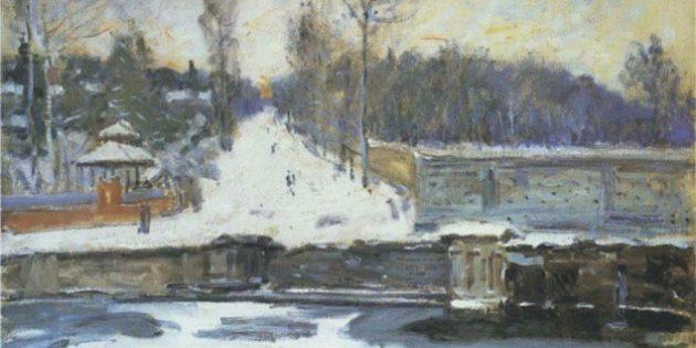 Альфред Сислей, Зима во Франции