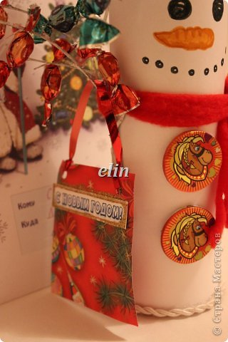 Мастер-класс Свит-дизайн Упаковка Новый год Разные сладкие работы Бумага Материал оберточный Проволока Продукты пищевые фото 15