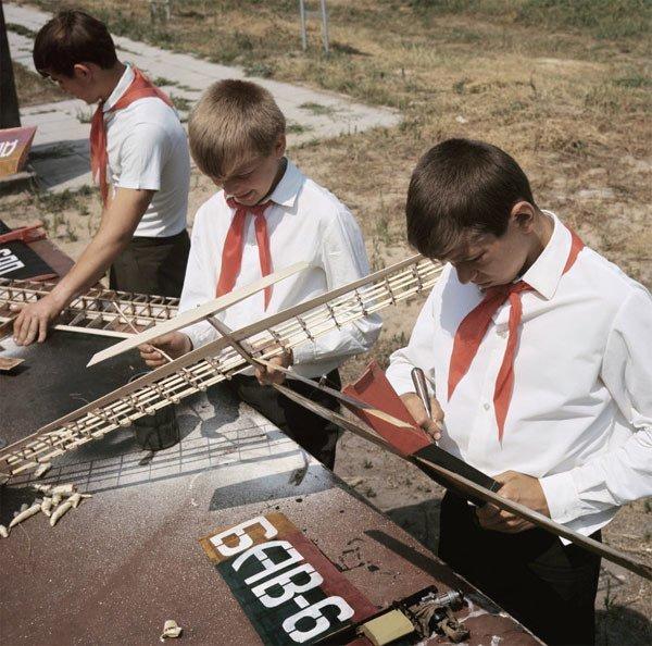 Технические кружки. Кружок авиамоделирования СССР, детство, кружки