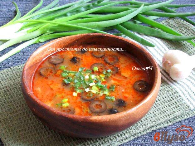 фото рецепта: Солянка с кальмарами
