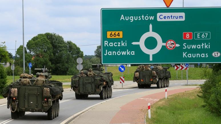 NEOPresse: НАТО перебросило войска на восток для подготовки к войне с Россией