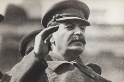 Ранним утром о Сталине, ещё и намёка на рассвет не было