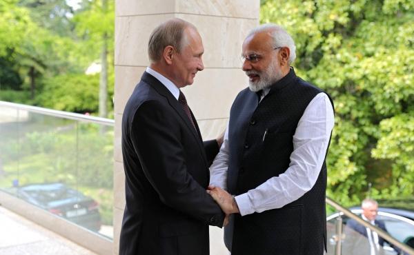 Переговоры Путина иНарендры…