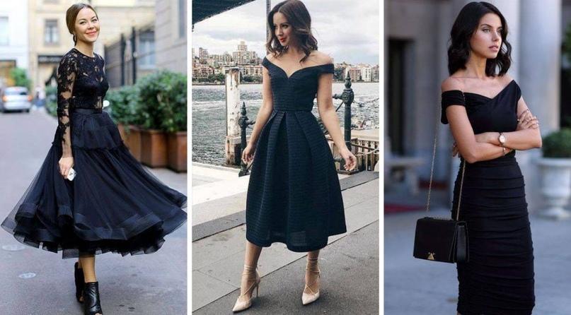 Великолепие маленького чёрного платья: Изумительные идеи