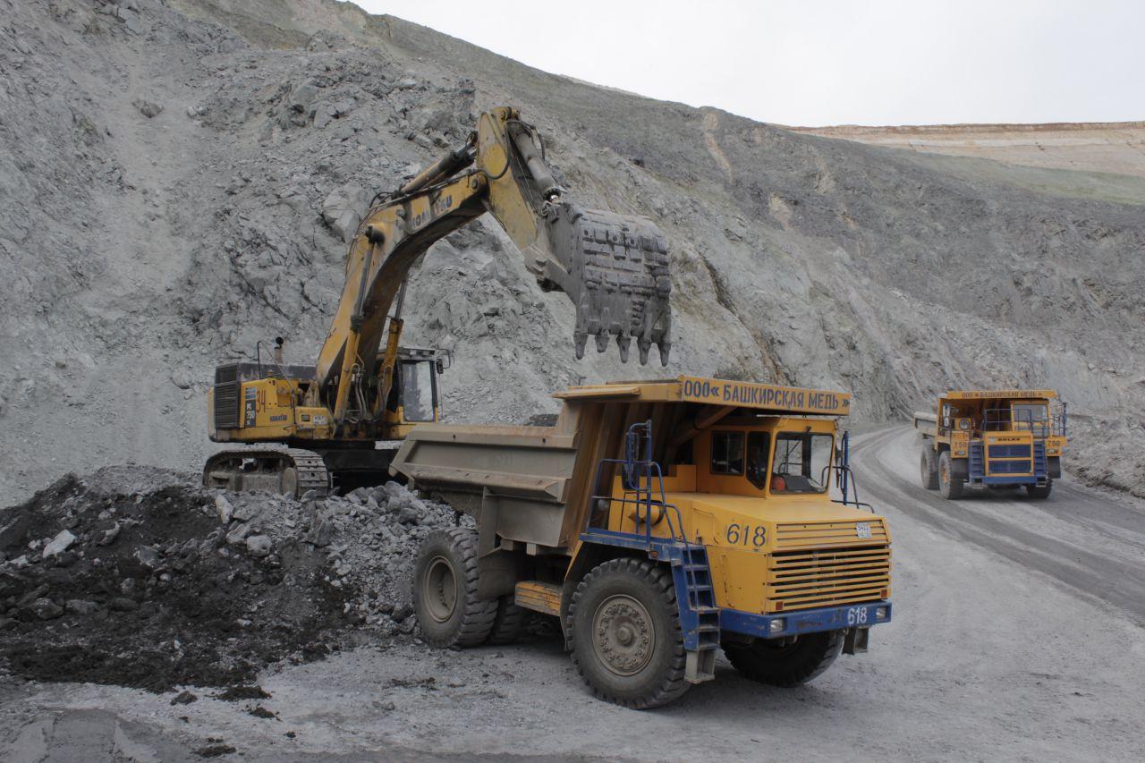 На медном руднике в Башкирии произошел взрыв в шахте