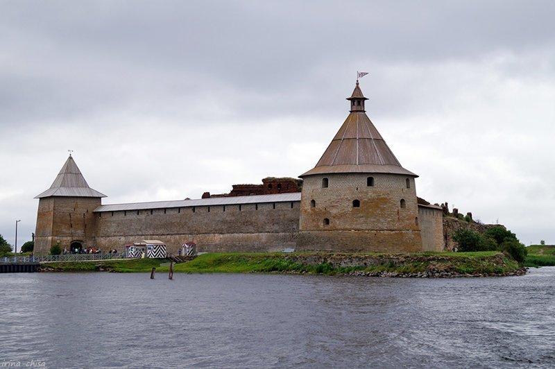 Шлиссельбург и крепость Орешек