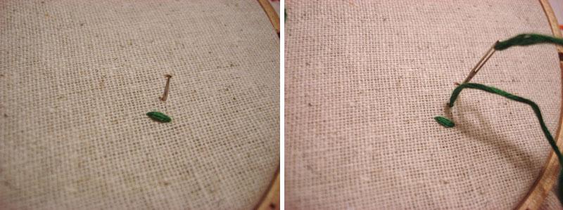 10 базовых стежков для вышивки