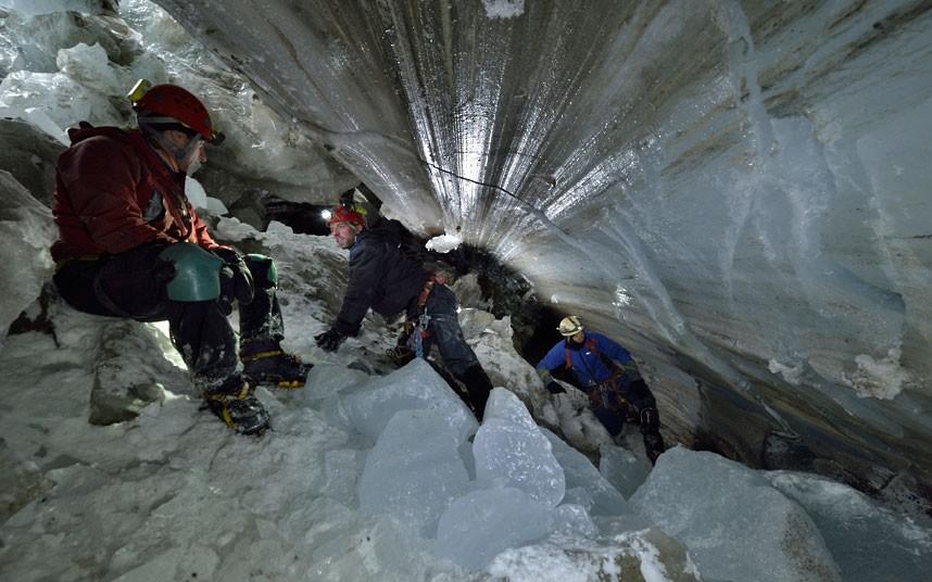gorner 10 Ледяные пещеры ледника Горнер