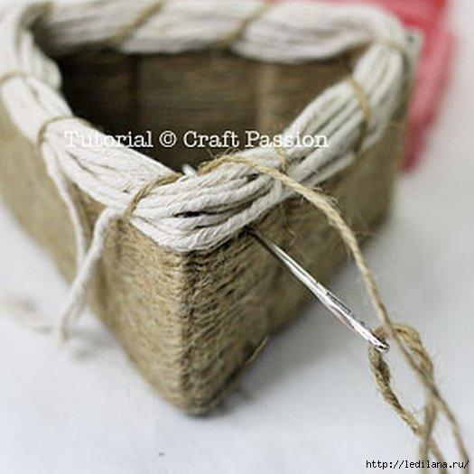 Веревка из бумаги своими руками