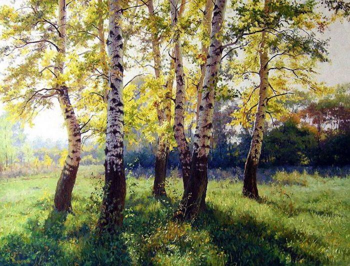пейзажи художник Кириченко Геннадий-16