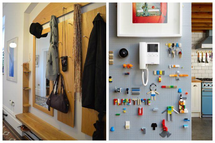 15 крутых идей для маленькой прихожей и коридора
