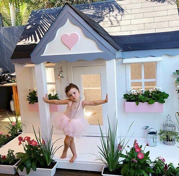 """""""Я увидела этот потрясающий домик в стиле Хэмптонс в Америке, но он стоил $20000"""", - сказала Шая Instagram, Квинсленд, Милли-Белль Даймонд, австралия, домик, роскошь, фото"""