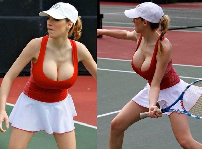 18 наглядных причин, почему мужчины любят женский теннис