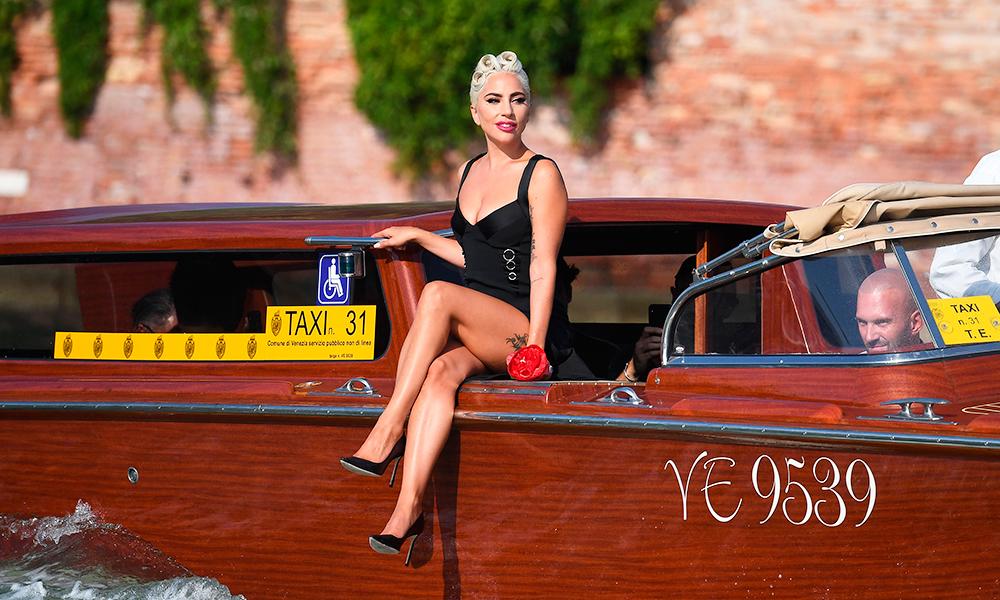 Ода гламуру: Леди Гага с женихом Кристиано Карино в Венеции