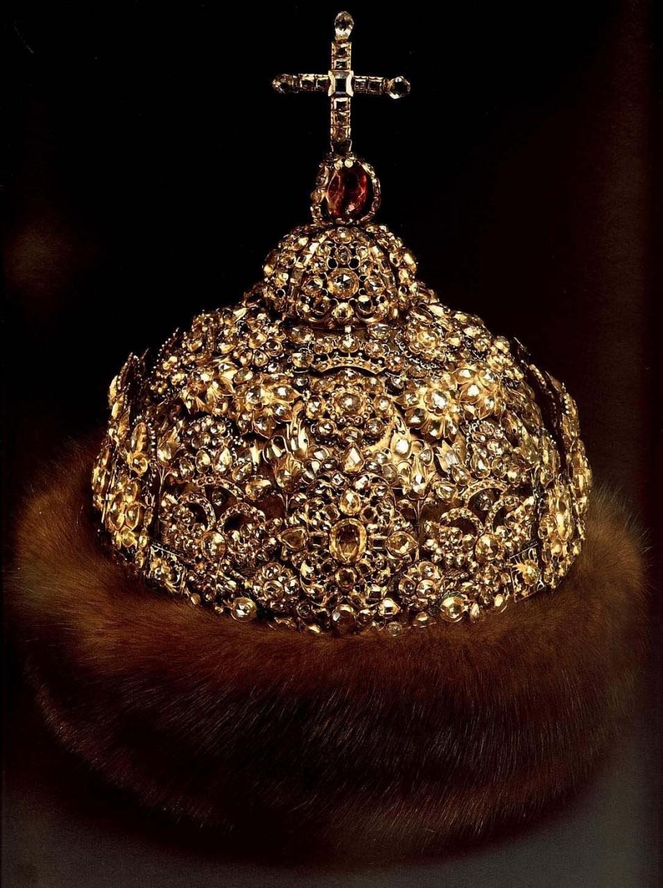 шапки русских монархов головные уборы, история, цари