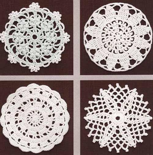 схемы круглых мотивов