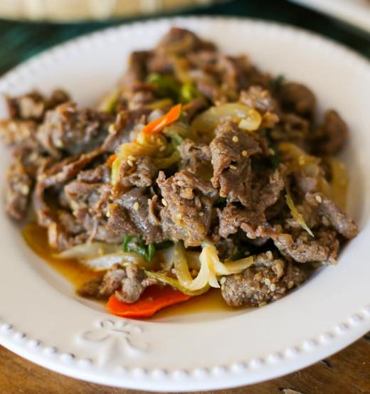 Булгаги -корейская маринованная говядина. Рецепт.