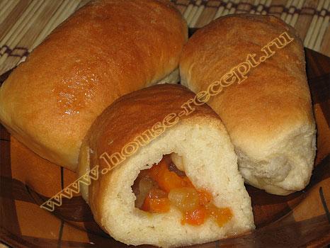 Духовые пирожки с повидлом рецепт с фото
